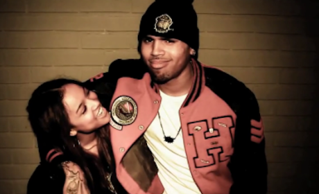 Chris Brown, Karrueche Tran Love-Fest