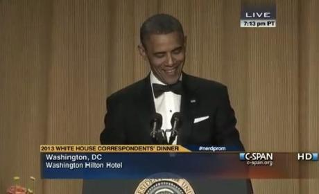 White House Correspondents Dinner 2013: Obama, Conan Bring the House Down