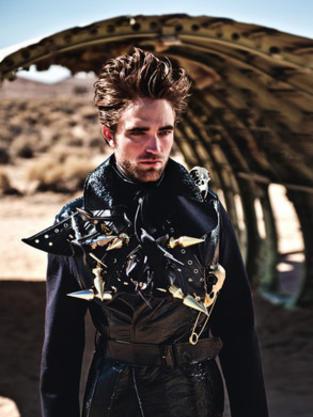Robert Pattinson in Vogue Italia
