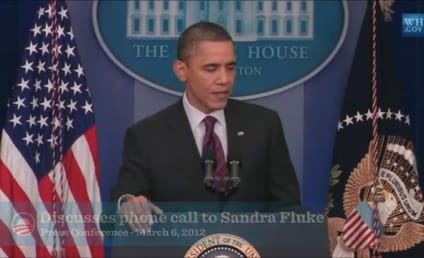 President Obama Supports Sandra Fluke, Invokes Daughters in Slamming Rush Limbaugh Remark