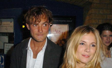 Jude Law and Sienna Miller Photo