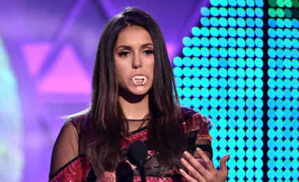 Nina Dobrev Chokes Up at Teen Choice Awards, Thanks Fans