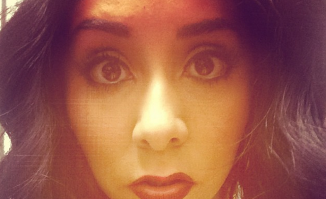 Snooki with Big Lips