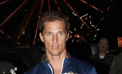 Matthew McConaughey: Shirtless, Excited to Be a Father