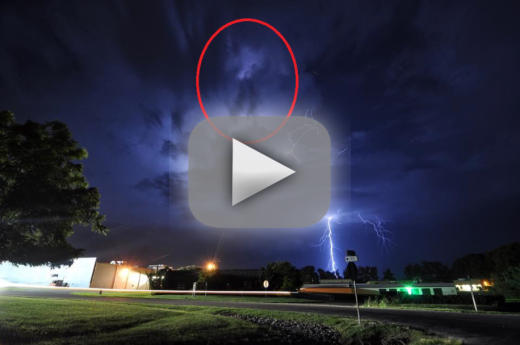 Michael jackson lightning storm photo