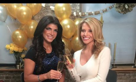 Teresa Giudice New Year's Resolution: Fewer Carbs!!!