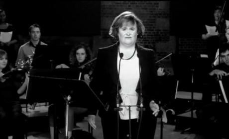 Susan Boyle Goes Black and White in New Music Video