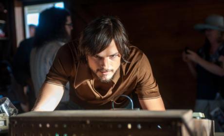 Ashton Kutcher as Steve Jobs image