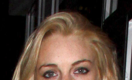 Lindsay Lohan, Ankle Monitor Go Bar Hopping