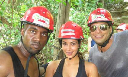 Kim Kardashian and Kanye West Go Wild with Joe Francis in Mexico