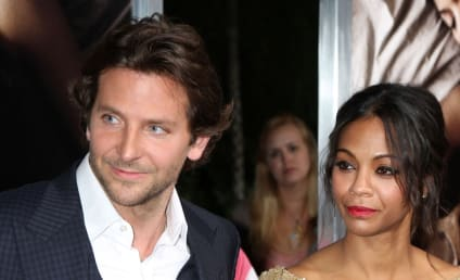 Bradley Cooper and Zoe Saldana: It's Over! Again!