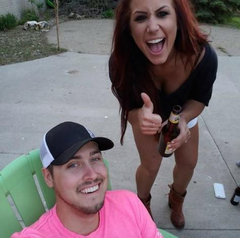 Chelsea Houska and Jeremy Calvert
