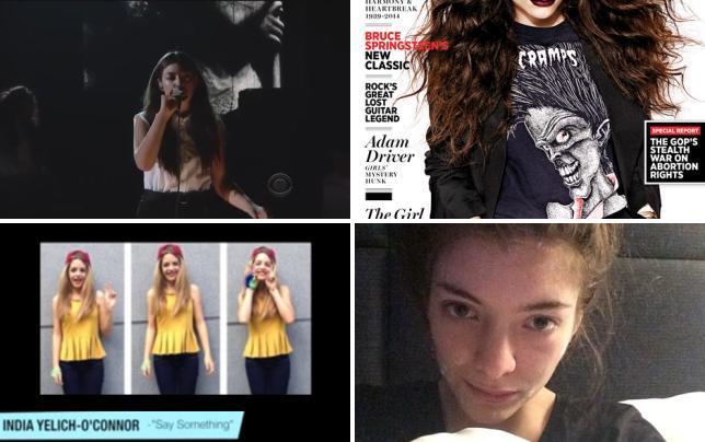 Lorde grammy performance 2014