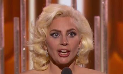 Lady Gaga Wins Golden Globe Award, Bumps Into Leonardo DiCaprio