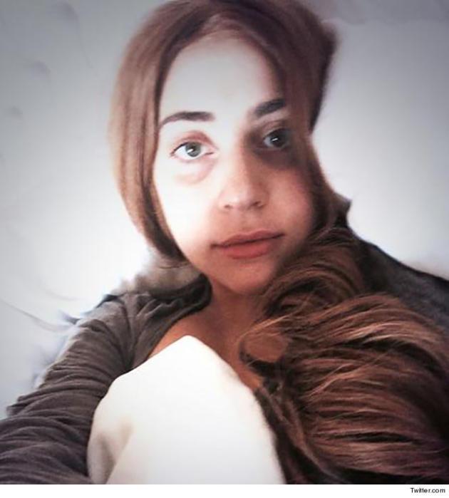 Lady Gaga No Makeup Photo