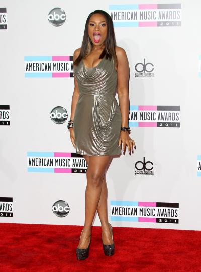 Jennifer Hudson at the AMAs