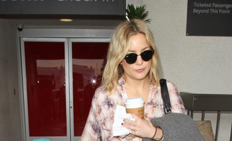 Kate Hudson and Bingham Bellamy Land In LA