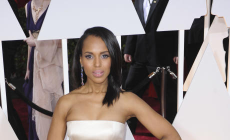 Kerry Washington at the 2015 Oscars