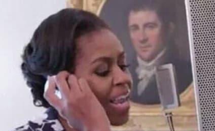 Michelle Obama Shows Off Mad, Crazy Rap Skillz