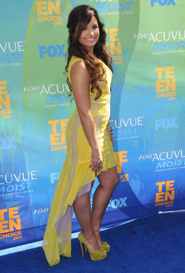Demi Lovato at the TCAs