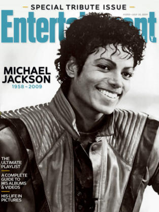 Michael Jackson Entertainment Weekly Cover (III)