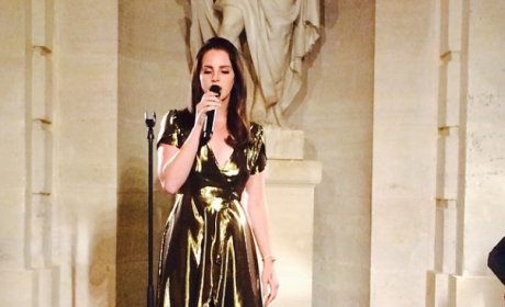 Kim Kardashian Rehearsal Dinner Pics: It's Lana Del Rey!