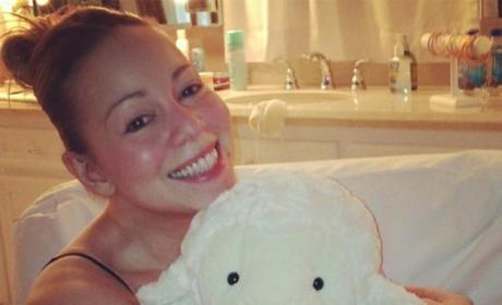 Mariah Carey No Makeup Photo: Still Beautiful?