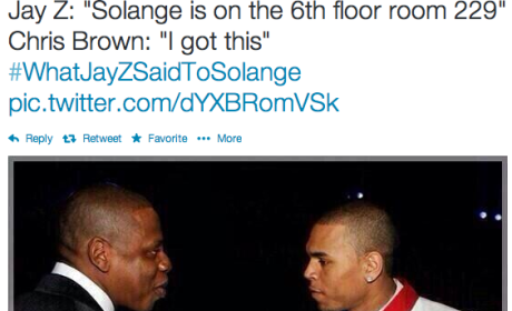 Solange Knowles Attack on Jay Z Sparks Hilarious Memes, #WhatJayZSaidtoSolange Trend