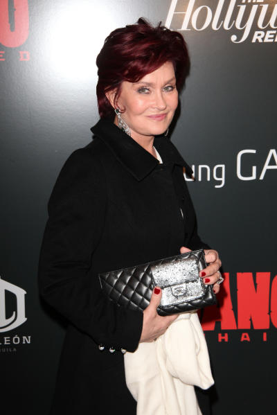 Sharon Osbourne on the Red Carpet