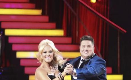 Chaz Bono and Lacey Schwimmer Pic