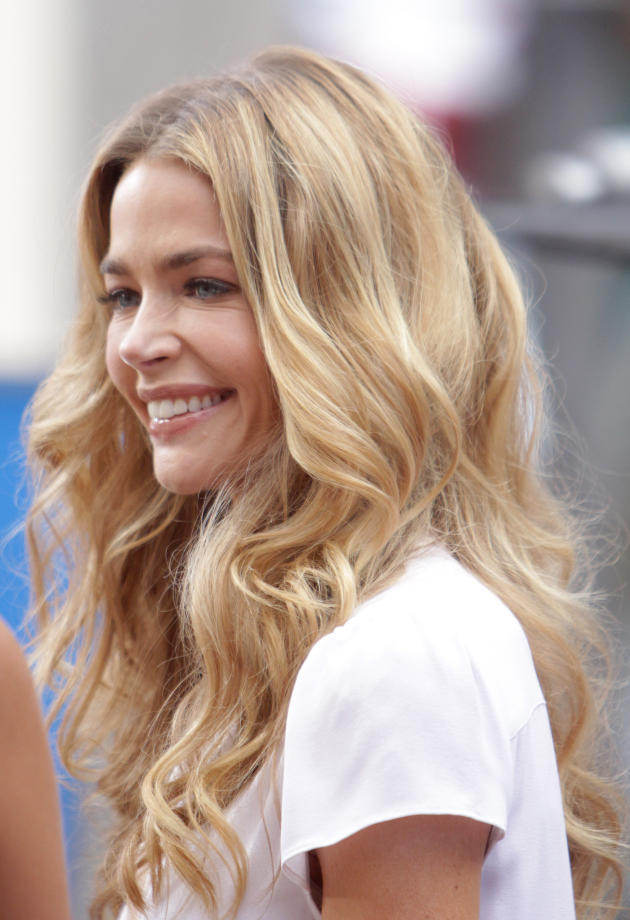 Denise Richards at the Grove