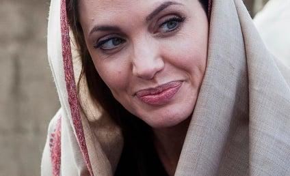 Angelina Jolie Visits Tunisia, Riot Ensues