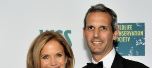 Katie Couric and John Molner Photo