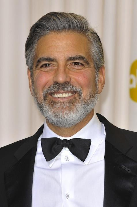 George Clooney in a Bowtie
