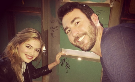 Kate Upton and Justin Verlander Photo