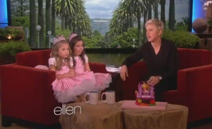 "Sophia Grace & Rosie Perform ""I Knew You Were Trouble"" on Ellen"