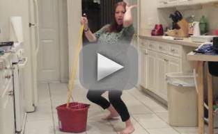 Pregnant Woman Twerks, Water Breaks