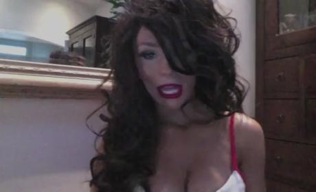 "Courtney Stodden Introduces Fans to ""Courtina"""