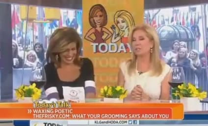"Hoda Kotb Admits to ""Landing Strip,"" Kathie Lee Gifford Defends Ungroomed Vagina"
