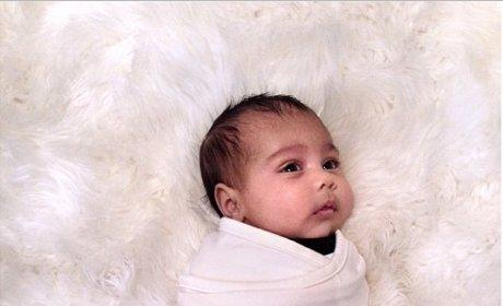 "Kim Kardashian Misses ""Little Angel,"" Releases NEW Photo of North West"