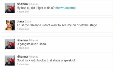 Rihanna - Ciara Twitter War