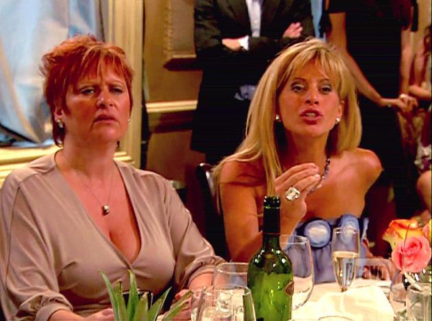 Caroline Manzo and Dina Manzo
