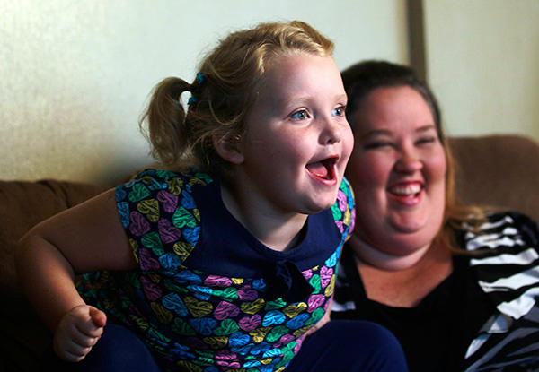 Excited Honey Boo Boo
