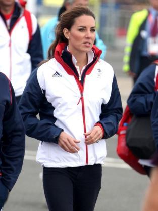 Kate Middleton Windbreaker