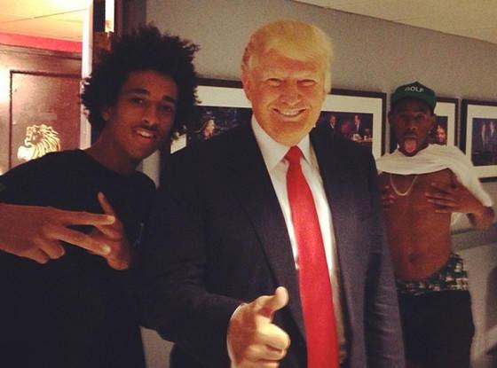 Donald Trump Photo Bomb