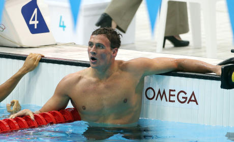 Ryan Lochte Shirtless Photo