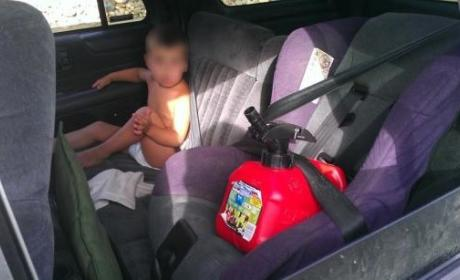 Sandra Ramirez, Mom With Gas Can in Car Seat and Toddler in Seat Belt, Defends Parenting