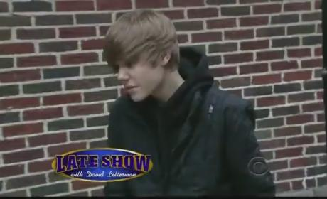 Justin Bieber Rocks The Late Show