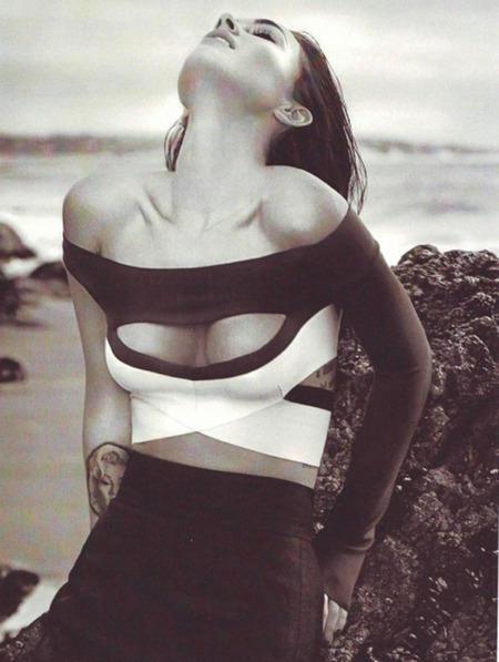 Megan Fox Elle Pic