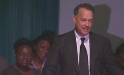 Tom Hanks Cracks Up Mourners at Michael Clarke Duncan Memorial Service
